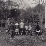 Building a life sized wigwam in the 1920s