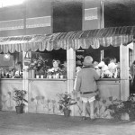 "A ""student store"" built by the students  and teachers in the 1920s"