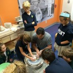 ...a maker-in-residence shares his craft with upper-schoolers.