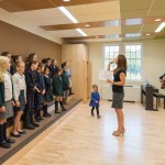 Performing arts classes including choral groups...