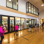 Along with P.E. classes, our gymnasium sees many types of activity...