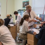 ...by further exploration and experimentation in our Upper School science lab.