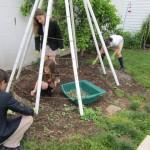 upper school garden volunteers 001