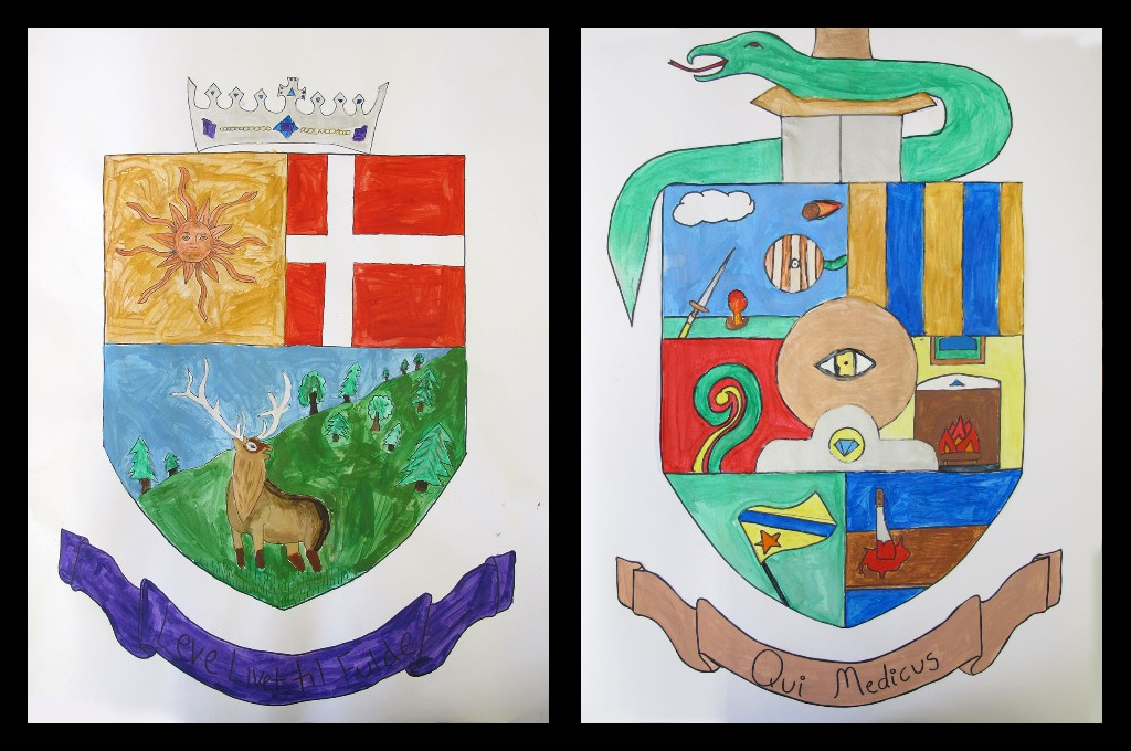 The Unquowa School A Lesson In Medieval Heraldry And Coats Of Arms
