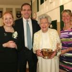 unq 2011 commencement JCW Alumni Award w SL, DW & LC_KM