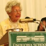 unq commencement 2011 JCW Alumni Award Established_KM